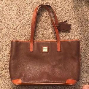 Dooney & Burke Brown Leather Purse
